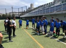 サッカー トレーナー活動