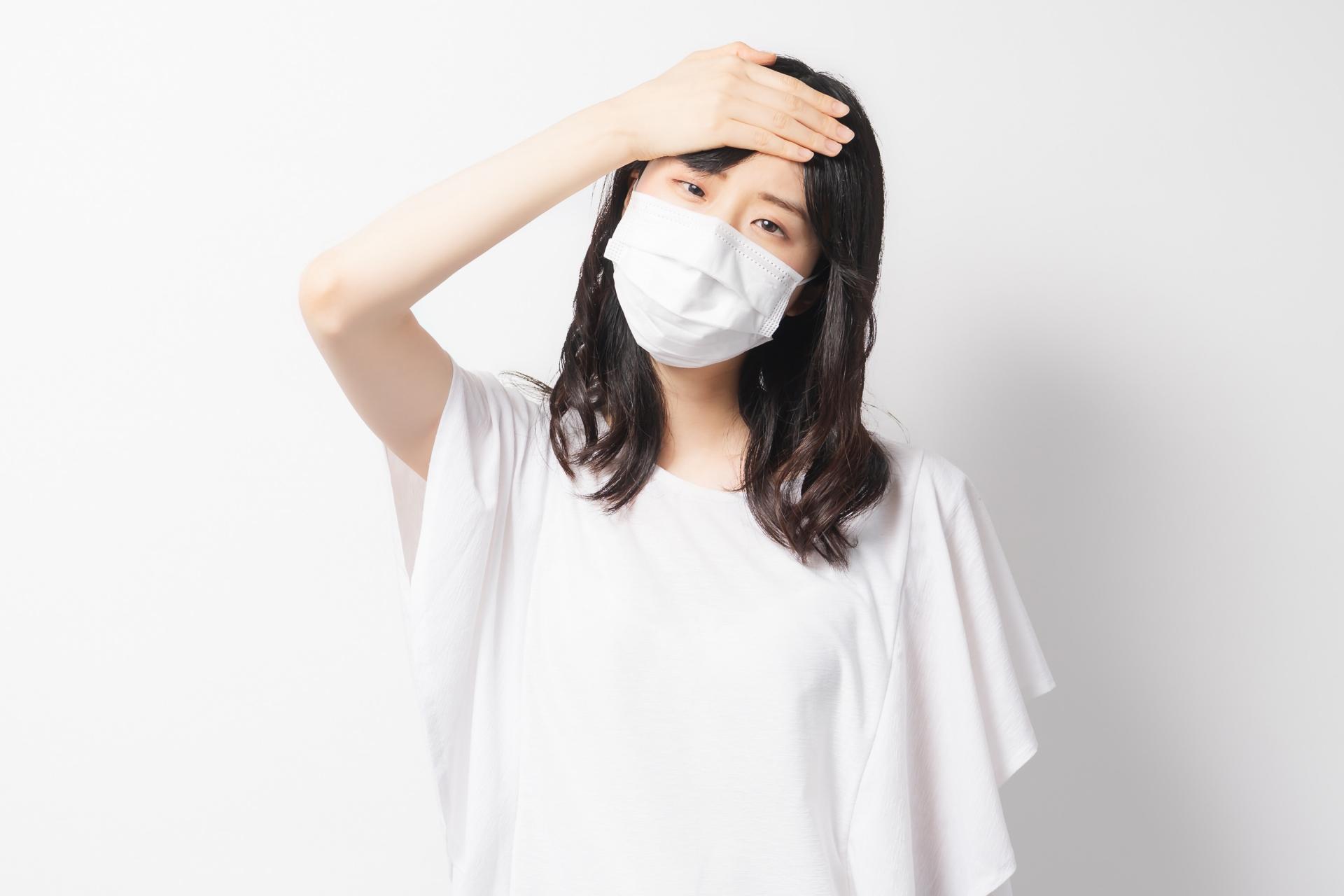 マスクの息苦しさについて【首の痛み/大船/頭痛】
