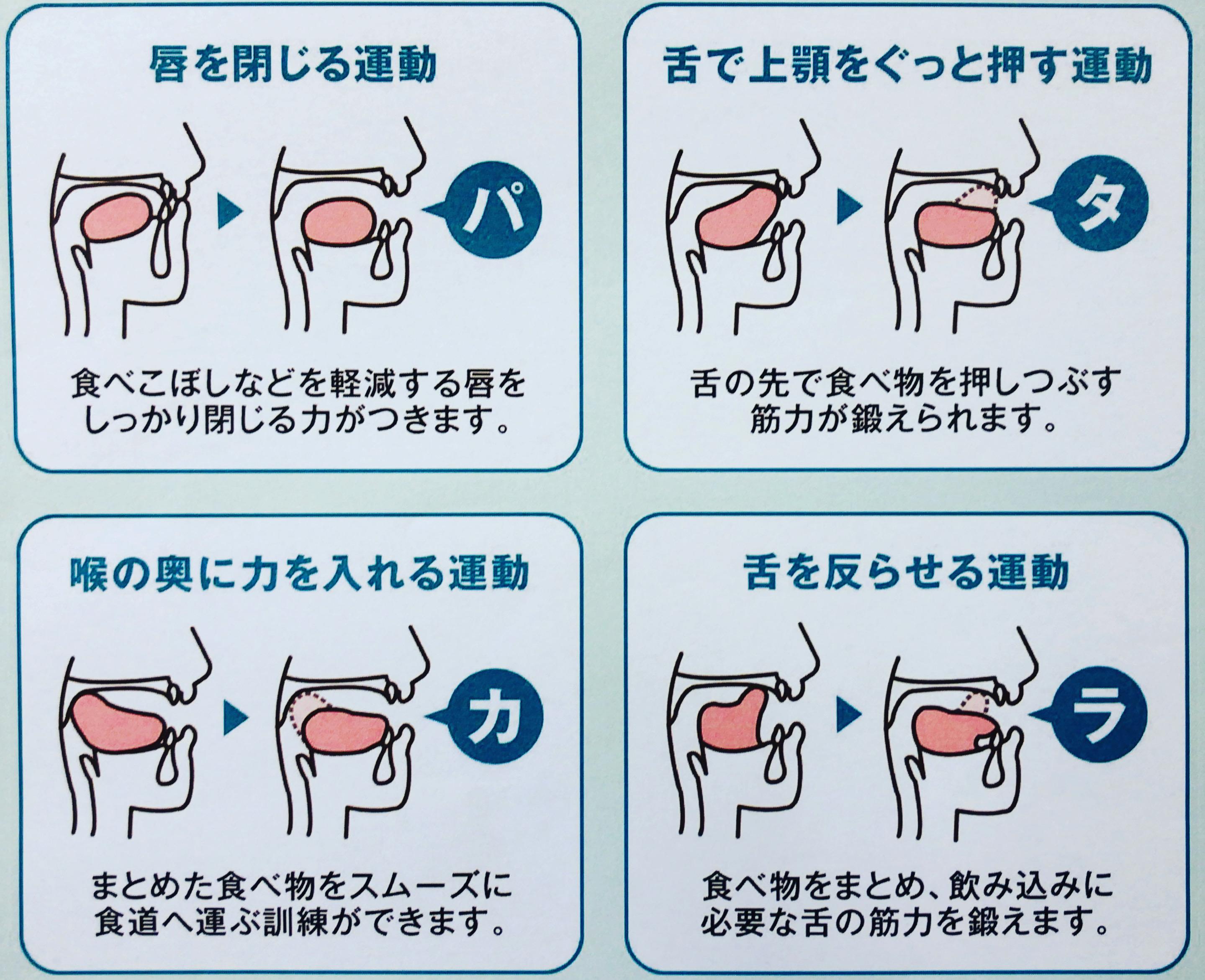 口の体操【咀嚼能力向上/大船/発音】